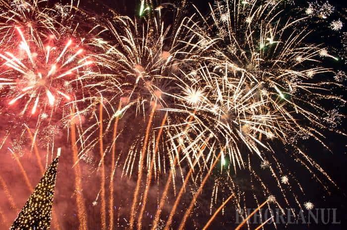 Artificii Revelion 2016