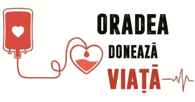Oradea doneaza viata